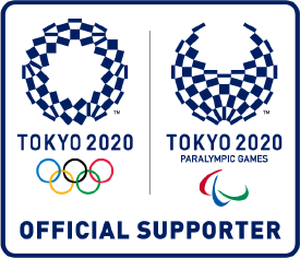 TOKYO 2020 OFFICIAL SUPPORTER